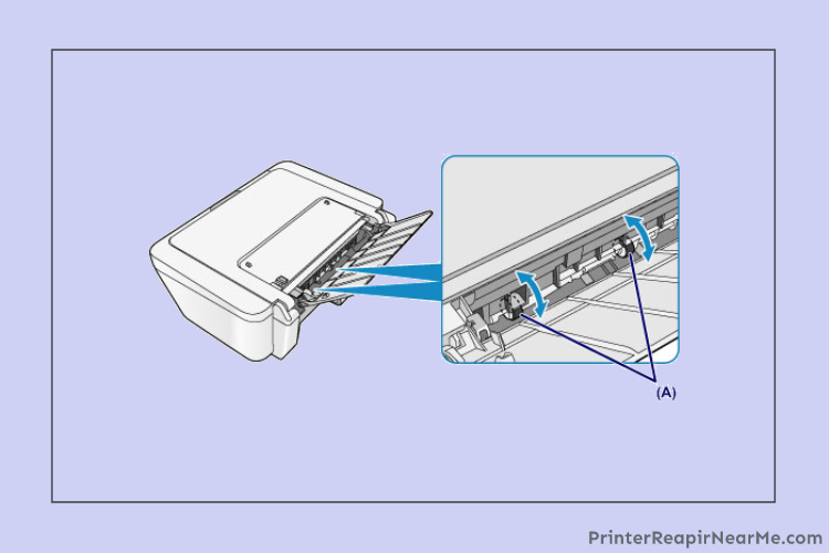 Clear Paper Roller-How To Fix Dell Printer Paper Jam Error
