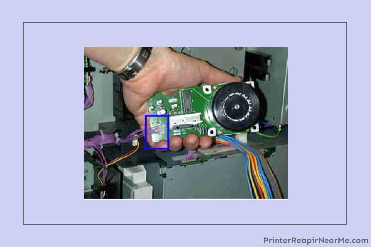 Fuser Motor- 59 f0 error hp printer