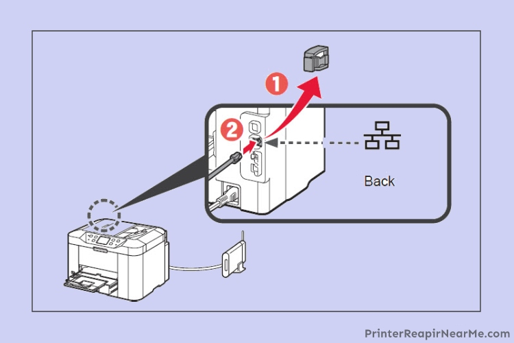 Printer-Connect-with-Ethernet-brother printer offline